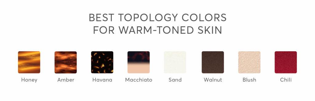 warm skin tone