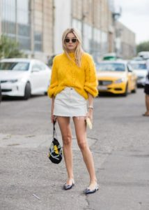 french tuck on skirt