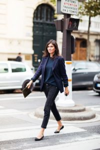 professional french tuck outfit