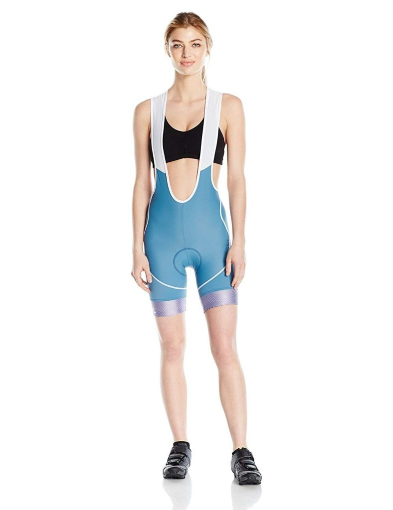 Wear Got Lemons_ Women's Helix Bib Shorts - Sky Blue