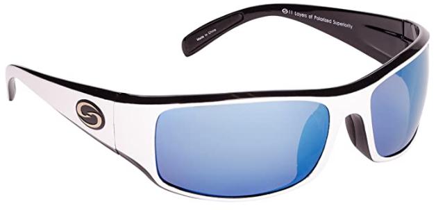 strike king blue mirror polarized sunglasses
